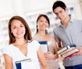 Group of college students Royalty Free Stock Photography