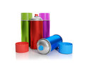 A group of colorful aerosol Stock Image