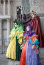 Group of colorful mask, venice Stock Photography
