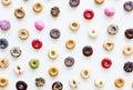 Group of Colourful Doughnut Bakery Sweet Dessert
