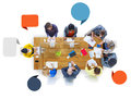 Group of Diverse Business People Working in Team Royalty Free Stock Photo