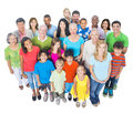 Group Of Diverse People Standi...