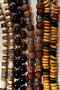 Group of Ethnic esoteric beads Stock Photos