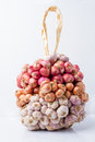 Group of garlic and onion Royalty Free Stock Photo