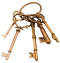 Group of keys Stock Images