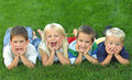 Group of Kids Royalty Free Stock Photo