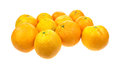 Group large oranges Royalty Free Stock Photos