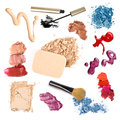 Group of make-up Royalty Free Stock Photo