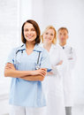 Group of medical workers healthcare and concept doctors Stock Photo