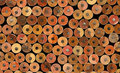 Group of new unsharp pencils Stock Photography