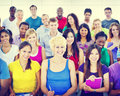 Group People Casual Learning Lecture Notes Cheerful Concept Royalty Free Stock Photo