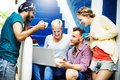 Group People Chatting Interaction Socializing Concept Royalty Free Stock Photo