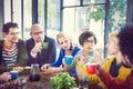 Group Of People On Coffee Break