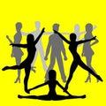 Group Of People - Dancers