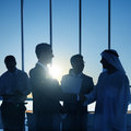 Group People Handshake Global Business Concept Royalty Free Stock Photo