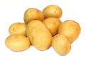 Group Of Potatoes Isolated On ...