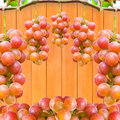 Group red grapes all use Stock Photo