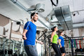 Group rope skipping in functional training Royalty Free Stock Photo