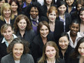 Group Of Smiling Businesswomen Royalty Free Stock Photo