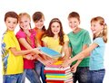 Group of teen people. Stock Photography