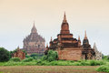 Group of Buddhist temples in Bagan, Myanmar