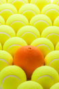 Group of Tennis Balls Stock Photos