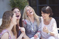 Picture : Group of women having fun diverse diverse two