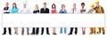 Skupina z pracovníci reklamný formát primárne určený pre použitie na webových stránkach