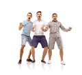 Group of young men Royalty Free Stock Photo