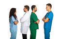 Groups of doctors Royalty Free Stock Photos