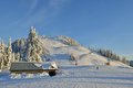Grouse Mountain Ski Resort Royalty Free Stock Photography