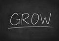 Grow Royalty Free Stock Photo