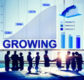 Growing Growth Success Business Aim Target Concept Royalty Free Stock Photo