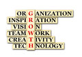 Growth acronym concept of and other releated words Stock Photo