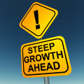 Growth ahead Stock Photography