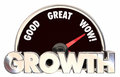 Growth Increase Improve Tracking Success