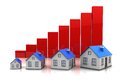 Growth in real estate Stock Photo