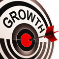 Growth Shows Maturity, Growth And Improvement Royalty Free Stock Photo