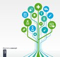 Growth tree medical, health, healthcare concept