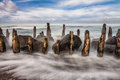 Groyne Royalty Free Stock Photo