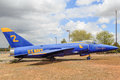 Grumman F11-F Tiger Navy Fighter Aircraft Royalty Free Stock Photo