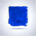 Grunde paint square blue for design abstract background Stock Photos