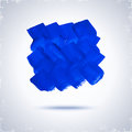 Grunde paint square grunge blue for design abstract background Stock Photography