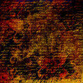 Grunge abstract background with handwrite text for design Royalty Free Stock Photo