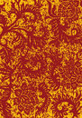 Grunge abstract floral decorative background, vector illustratio Royalty Free Stock Image
