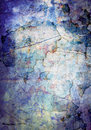 Grunge abstract textured mixed media collage, art