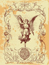 Anděl ilustrace