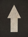 Grunge arrow signs road Royalty Free Stock Photo