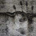 Grunge Background with Hand Print Stock Image