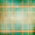 Grunge background with plaid pattern Stock Images